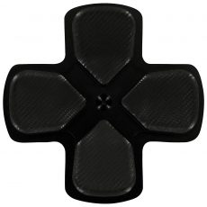 ZedLabz PS4 Alloy Metal Directional D Pad Arrow Button [Jet Black] /PS4