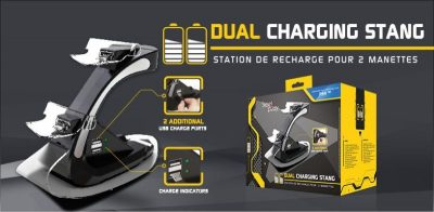 Steelplay - 2 Controller Charge Station (PS4)