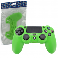 Silikona pārvalks PS4 kontrolierim [Green] /PS4