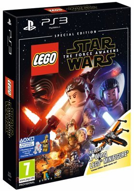 Lego Star Wars: The Force Awakens - Special Edition inc. X-Wing Mini Vehicle /PS4