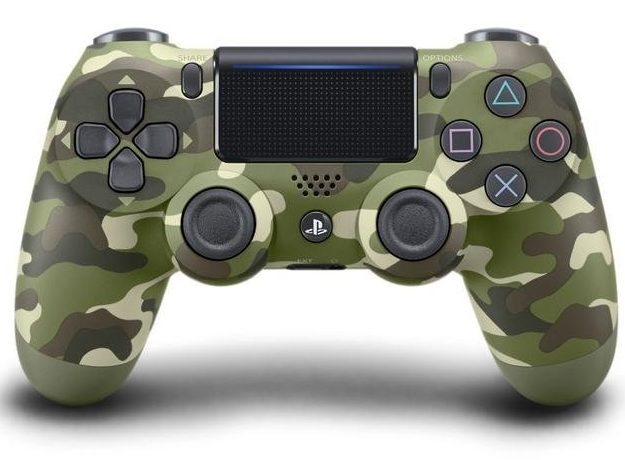 Sony Dualshock 4 Controller (NEW VERSION 2) - Green Camouflage (EU) /PS4