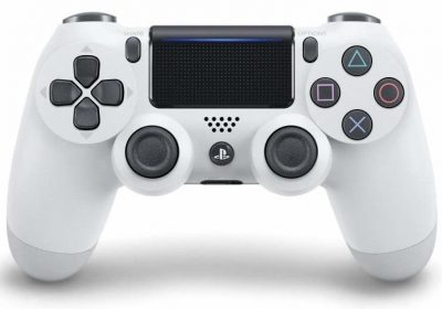 Sony Dualshock 4 Controller (NEW VERSION 2) - White (EU) /PS4