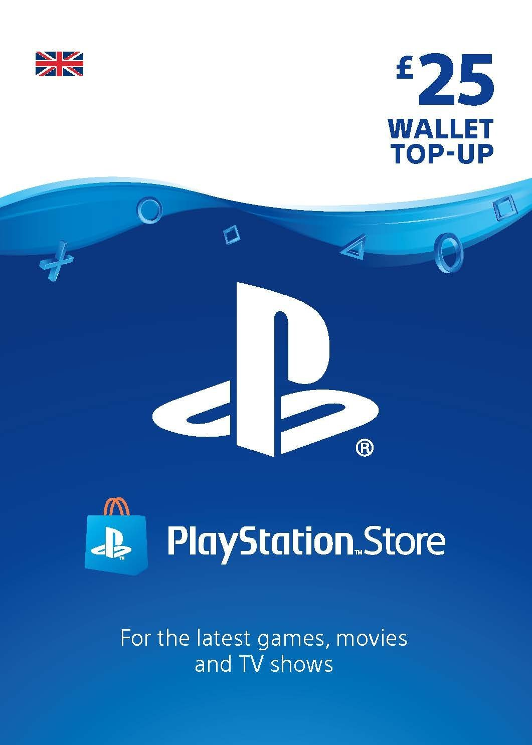 Playstation Network Card £25 (In Paperform) (PS3 / VITA / PS4) /PS4