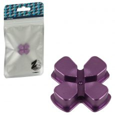 ZedLabz PS4 Alloy Metal Directional D Pad Arrow Button [Purple] /PS4