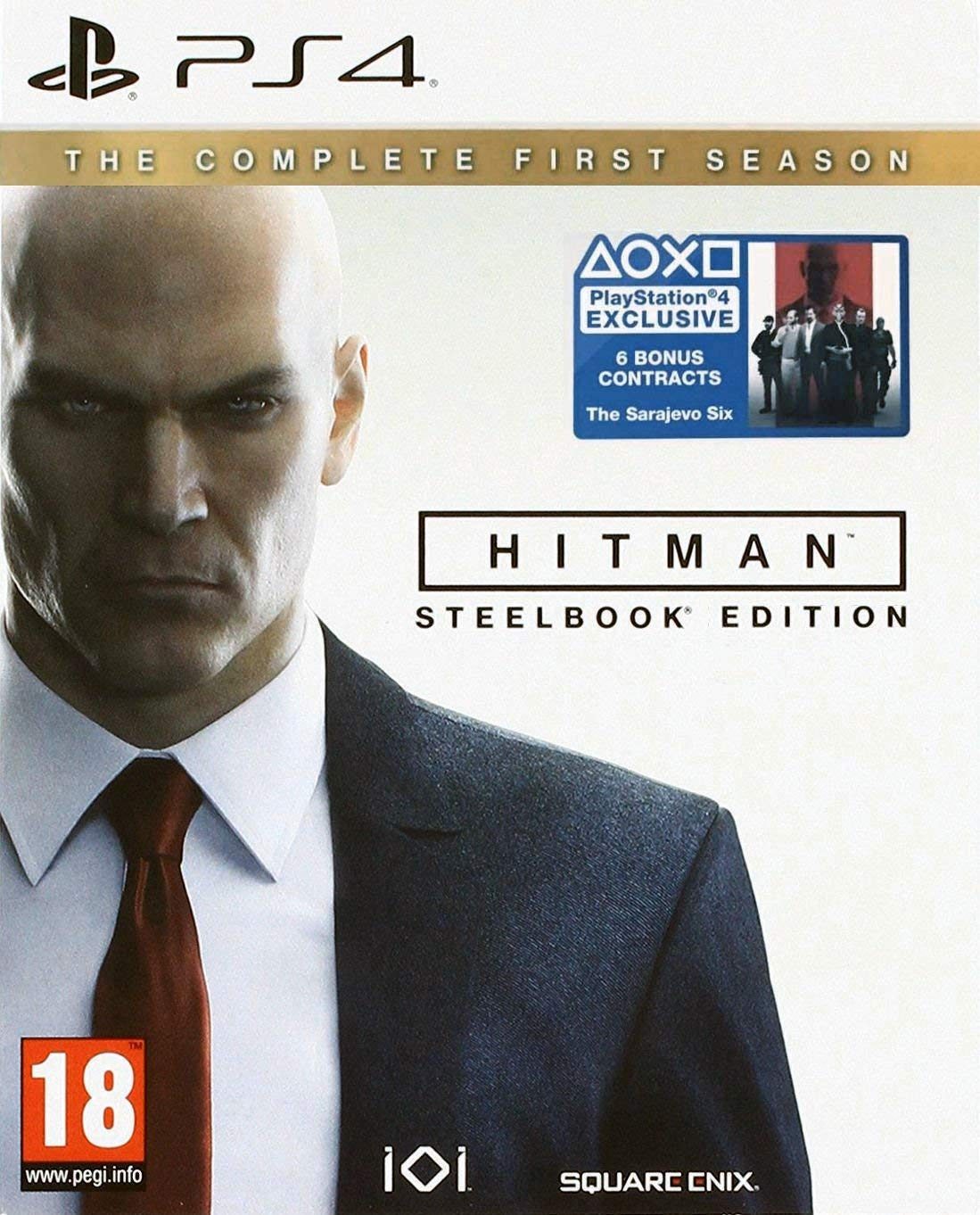 Hitman: The Complete First Season Steelbook Edition /PS4