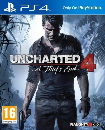 Uncharted 4: A Thief's End (PS4) /used/RUS