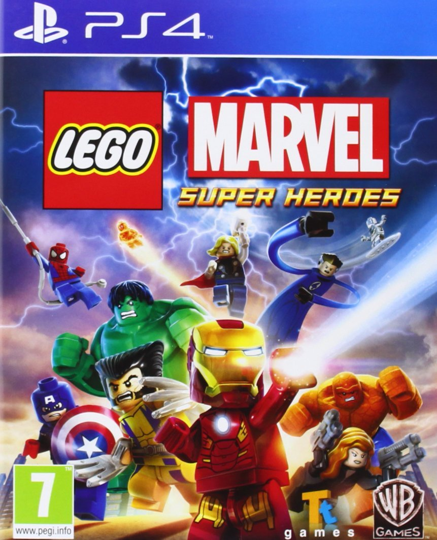 Lego Marvel Super Heroes (PS4) - used