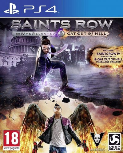 Saints Row IV: Re-elected & Saints Row: Gat out of Hell /PS4