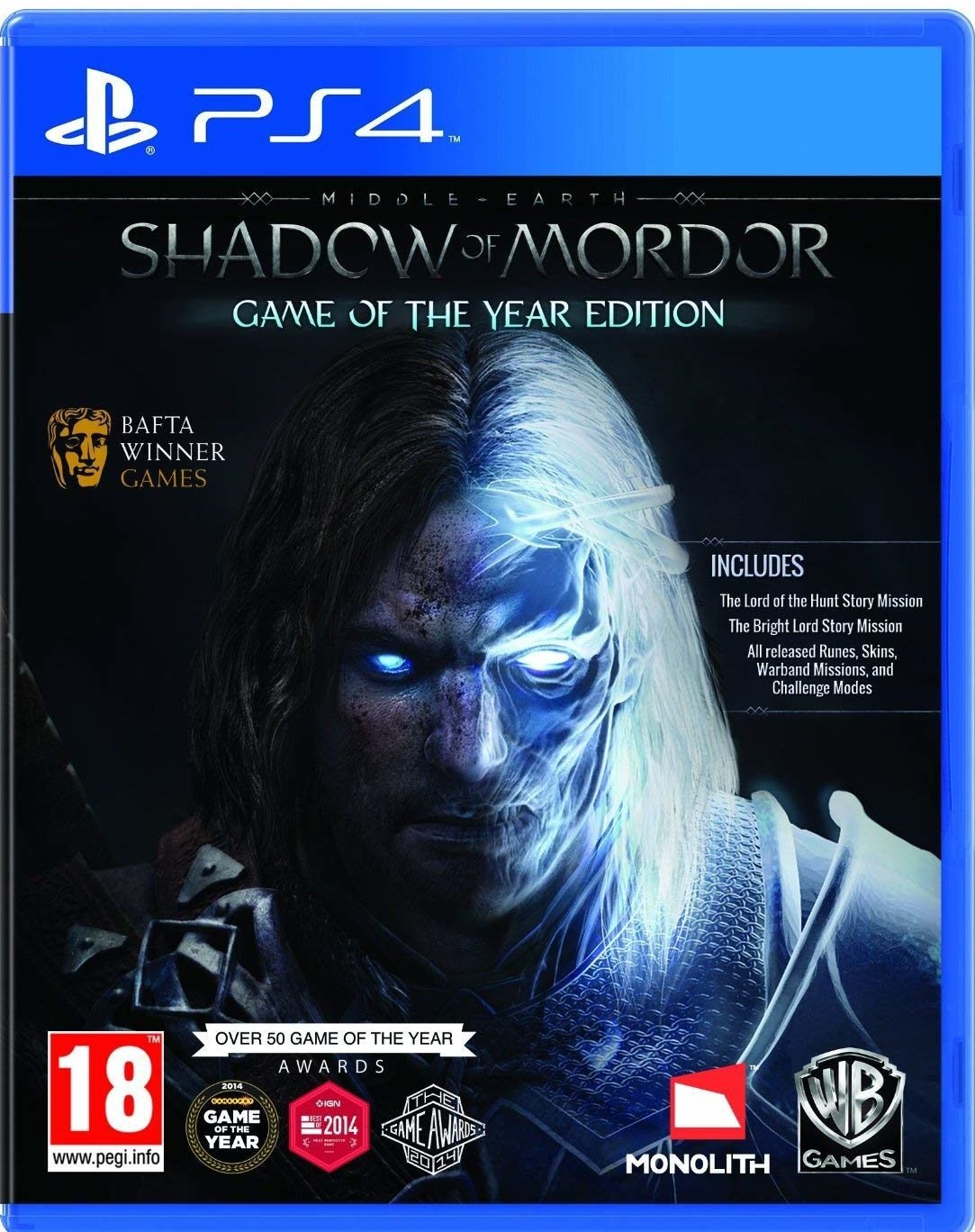 Middle-Earth: Shadow of Mordor - Game of the Year Edition /PS4