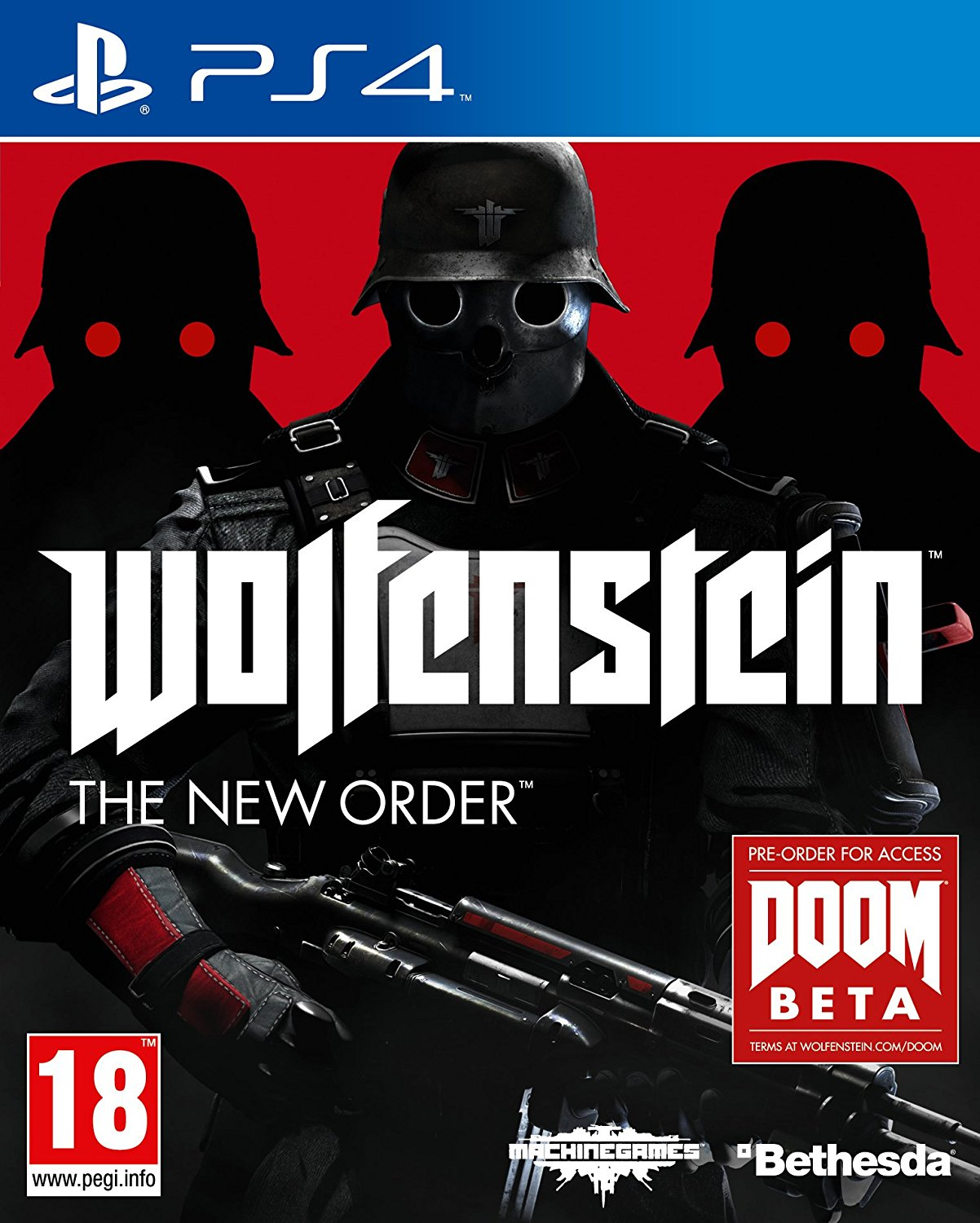 Wolfenstein: The New Order /PS4