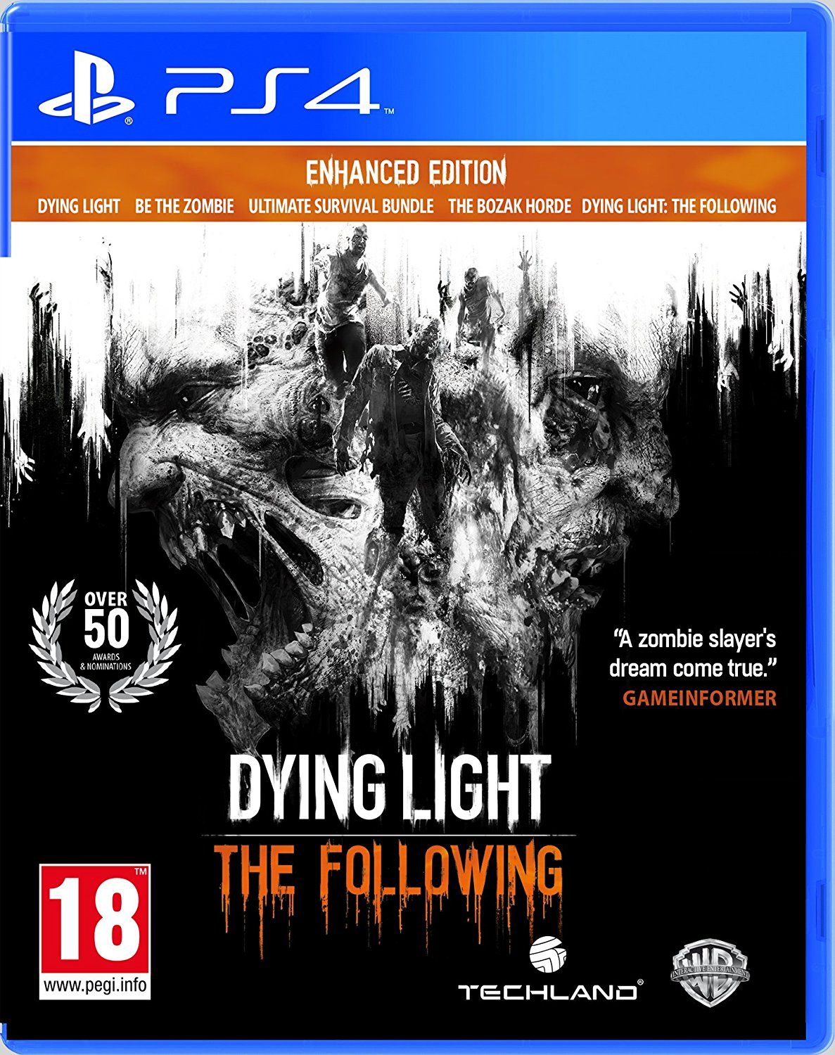 Dying Light: The Following - Enhanced Edition /PS4
