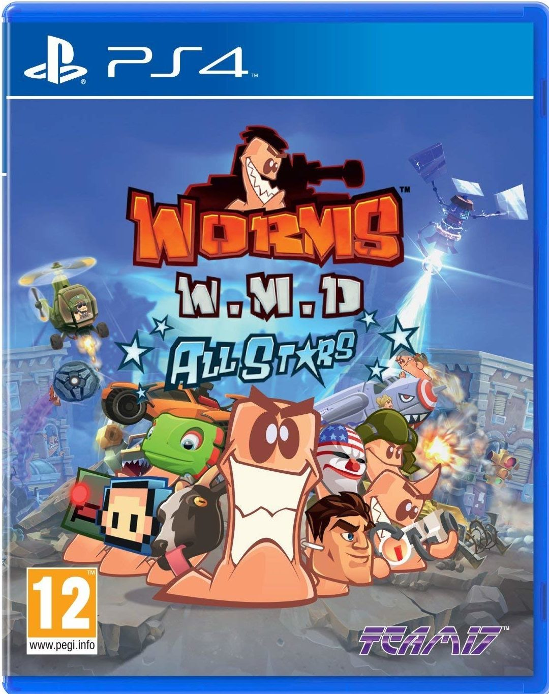 Worms WMD All Stars /PS4