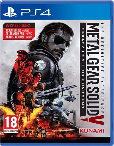Metal Gear Solid V (5): Definitive Experience /PS4