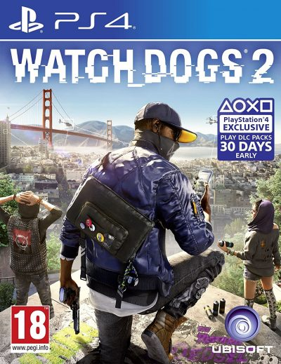 Watch Dogs 2 (PS4) /used