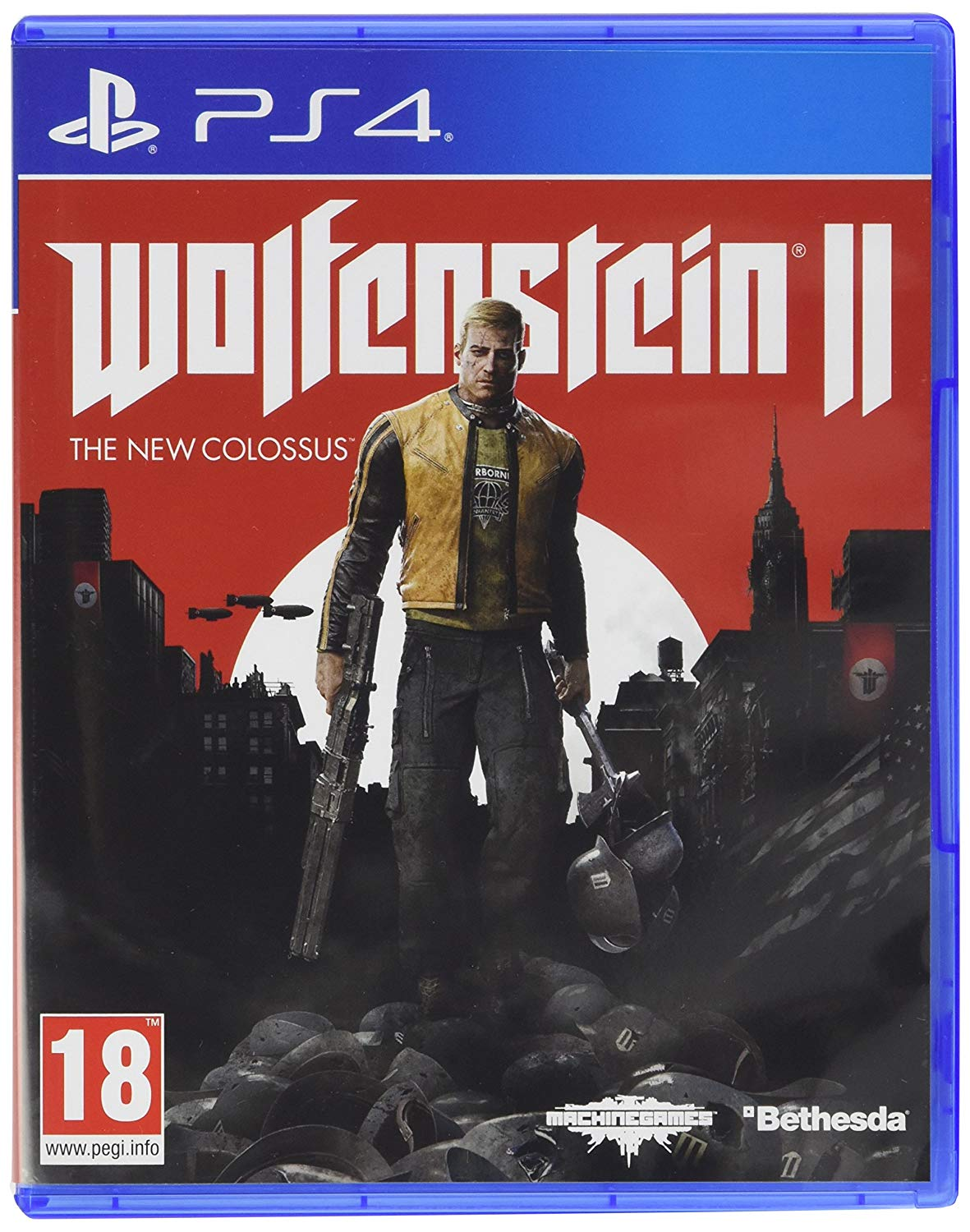 Wolfenstein II: The New Colossus /PS4 /RUS