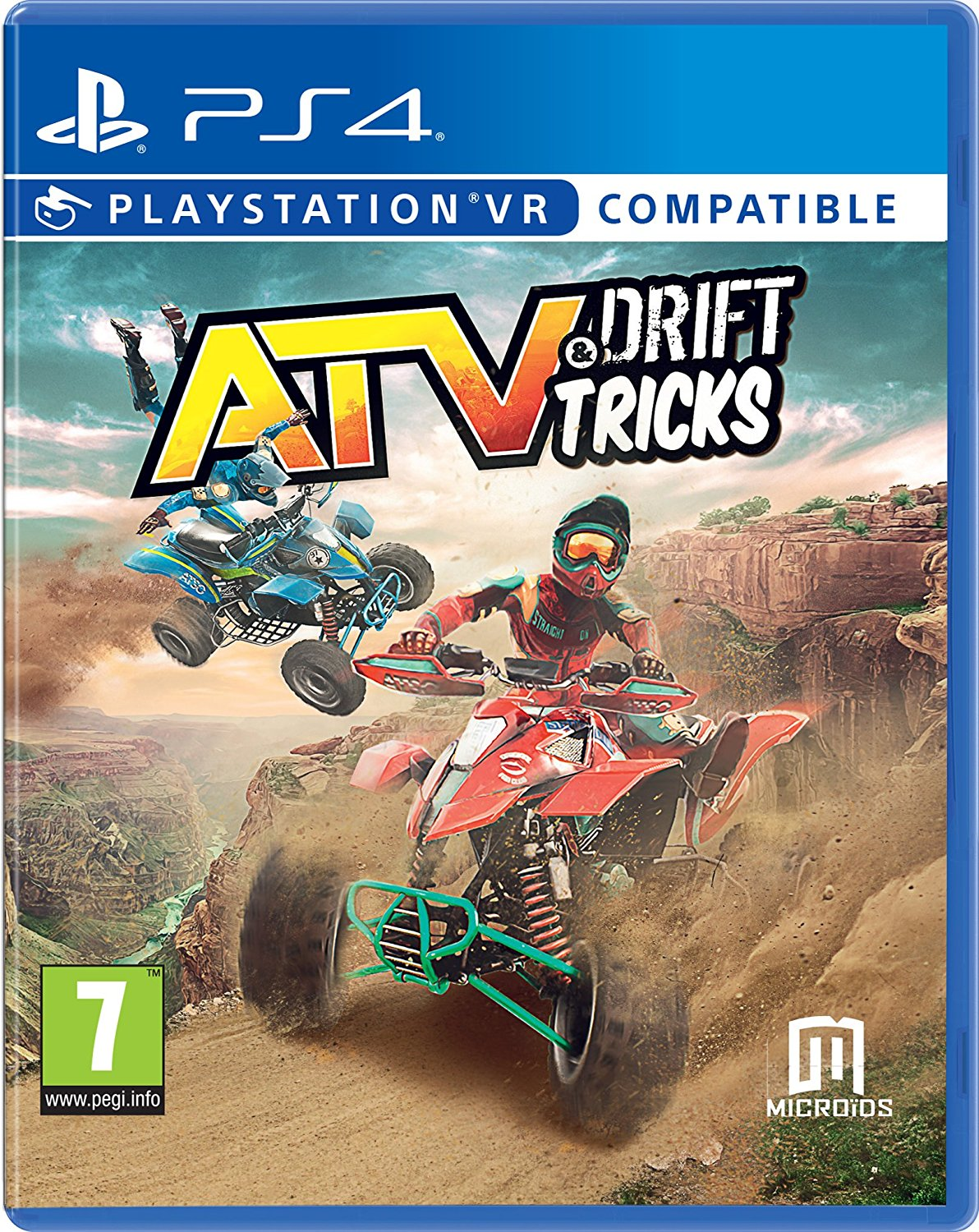 ATV Drift and Tricks (VR Compatible) /PS4