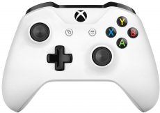 Xbox One Crete White Controller Wireless - With 3.5mm Stereo Headset Jack /Xbox One