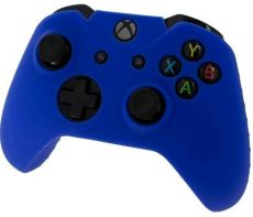 Pro Soft Silicone Protective Cover with Ribbed Handle Grip [Blue] /Xbox One