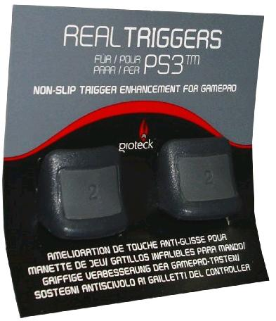 Real Triggers Non Slip Trigger Enhancements for PS3 (Gioteck)/ PS3