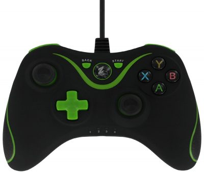 ZedLabz Xbox One Wired Controller (2.2M Wire, Vibration & 3.5 Jack) /Xbox One