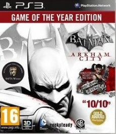 Batman: Arkham City - Game of the Year Edition (English/Polish) /PS3