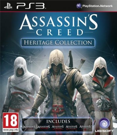 Assassin's Creed: Heritage Collection (PS3) /lietota