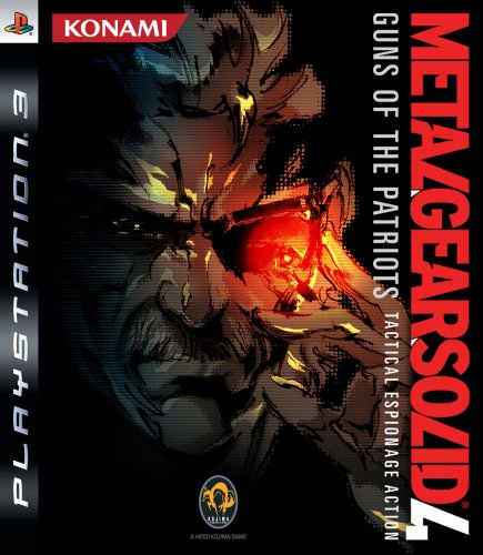 Metal Gear Solid 4- Gans of The Patriots (PS3)