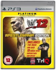 W'12 WrestleMania Edition (PS3) Platinum