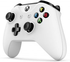 Xbox One White Original Controller Wireless With 3.5mm Stereo Headset Jack