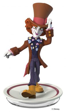 Disney Infinity 3 Figure The Mad Hatter Alice Through the Looking Glass