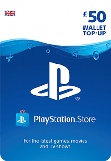 Playstation Network Card £50 (PS3 / VITA / PS4) /PS3