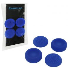 PS4 Silicone Thumb Grips: Concave & Convex - Blue (Assecure) /PS4