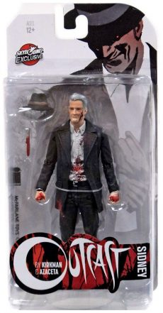 Walking-Dead-Figs Outcast Comic Sidney Bloody 15 cm