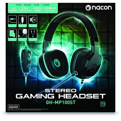 Nacon Headset GH-MP100ST Stereo Gaming Headset Multi