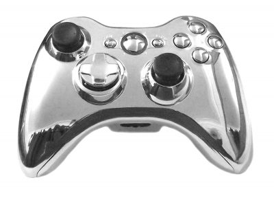 Xbox 360 Controller Wireless **Chrome Silver **