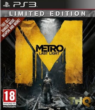 Metro Last Light (PS3) /lietota