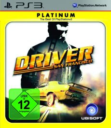 Driver San Francisco Platinum (PS3) /lietota
