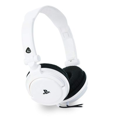 PS4  Officially Licensed Stereo Gaming Headset PRO4-10 - White