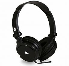 PS4  Officially Licensed Stereo Gaming Headset PRO4-10 - Black